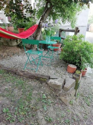 le jardin , espace détente