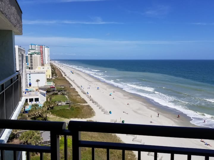 ⛱MB OCEANFRONT Penthouse view! Top Floor +ALL NEW⛱