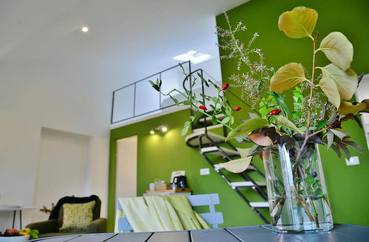 Pieve Suites-Top: luxury townhouse duplex