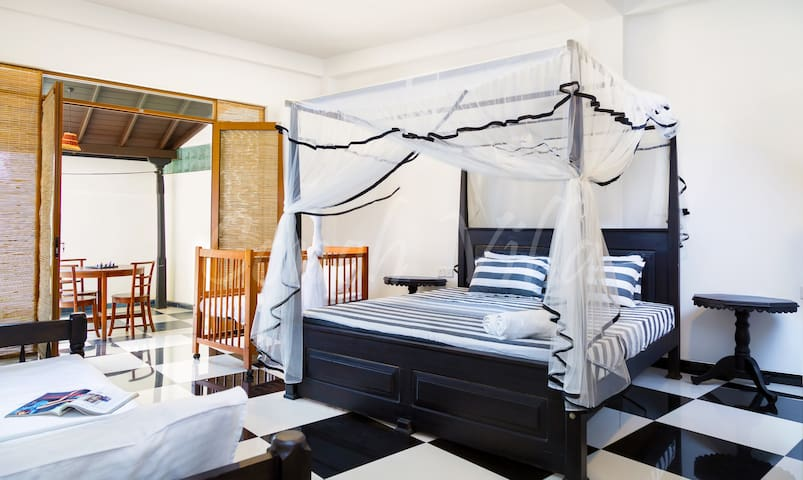 Conch Villa (Official) Deluxe Triple Room - Tangalle - Boutique hotel
