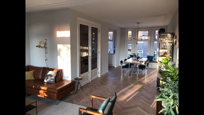 Stylish & Spacious - 5 min from Rotterdam centre