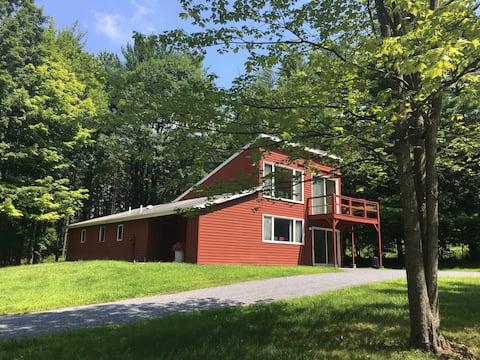 Mid Century Artist's Retreat in the Woods