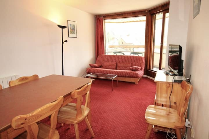 Spacious 2 rooms 4/5 personsin a quiet area.