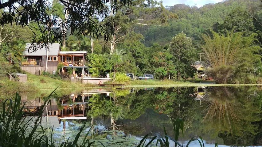 "Waterford Park "" Lake House"" - Kin Kin - Casa"