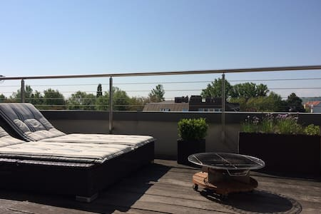 Modern, spacious apartment with a great view - Mödling - Lejlighed