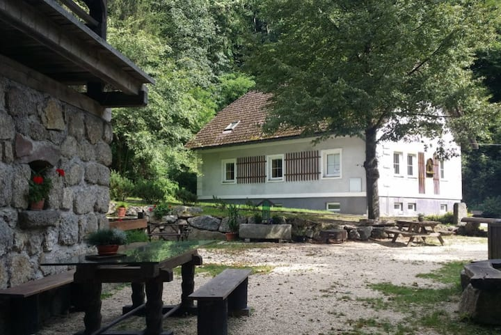 Idyllische 100m² Wohnung an der Donau, 2-9 Pers.