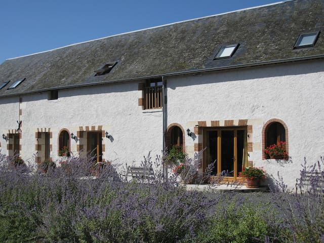 Le Grebe - luxury gite for 8 with heated pool