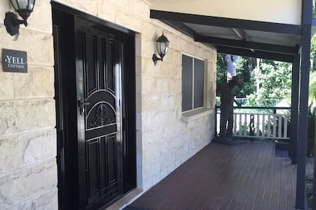 Spacious 2 Bedroom Cottage in Resort Style Setting - Tallebudgera Valley - Hus