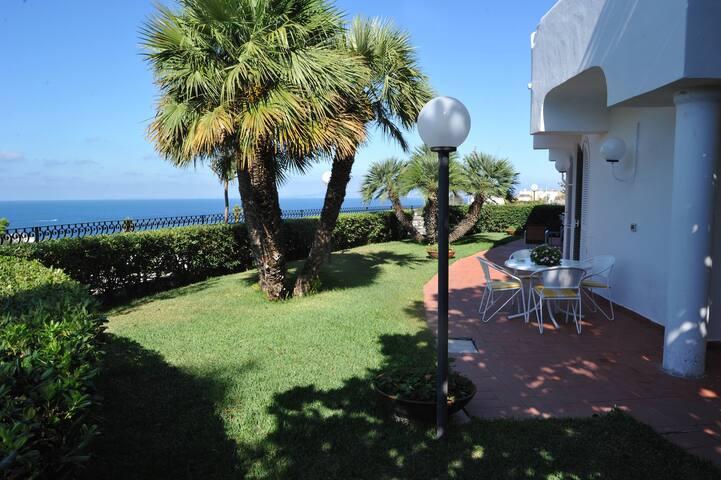 Garden 1 - Sun, Sea and Comfort in Villa - Lacco Ameno - Flat