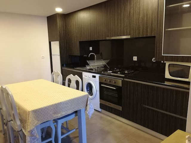 T1 kitchenette