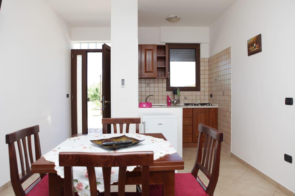cucina privata in suite