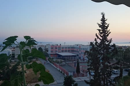 Cozy Room with Sea View in Glyfada