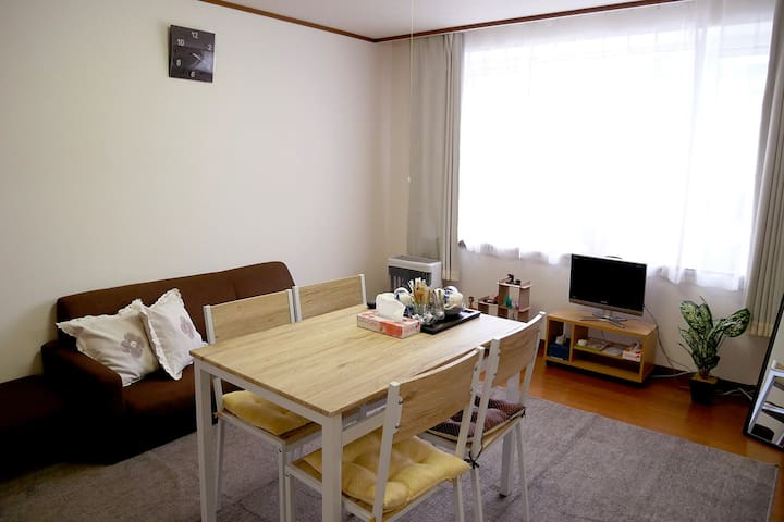 50㎡/Hakodate /good location/cozy/free parking/102 - Hakodate-shi - Apartemen