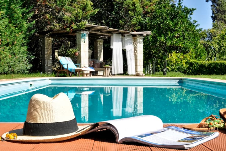 Portico Verde private Villa with pool, Corfu
