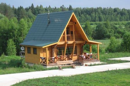 Новый дом у реки в сосновом лесу - Kochnevo - House