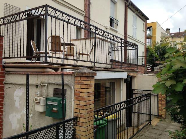 Maison de 3 pièces avec terrasse. Alfortville. - アルフォールヴィル - 一軒家