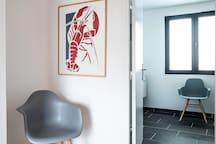 Chambre avec salle de bains