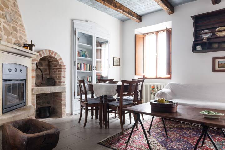 Villa Mercatino Conca Piandicastell - Piandicastello - วิลล่า