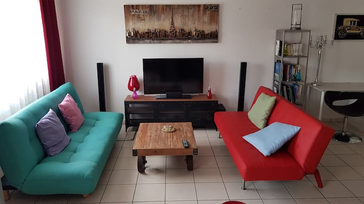 Appartement 55 M² proche Tours