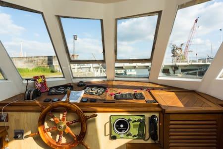 Freyja, gorgeous houseboat - Bordeaux - Boot