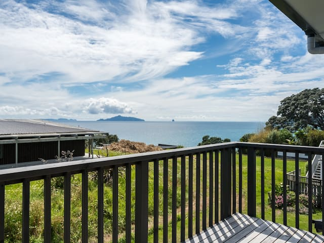 Sea Views and Sunshine - Sunny family home with waterfront position