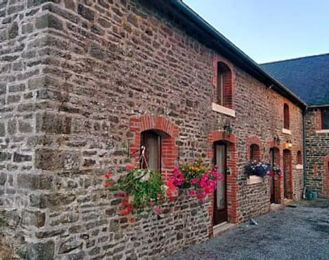 Grosterie Gite, a very rural and quiet location.