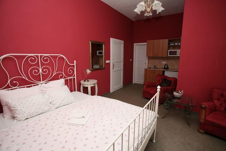 Apartmán pro dva na zámku Jindřichovice