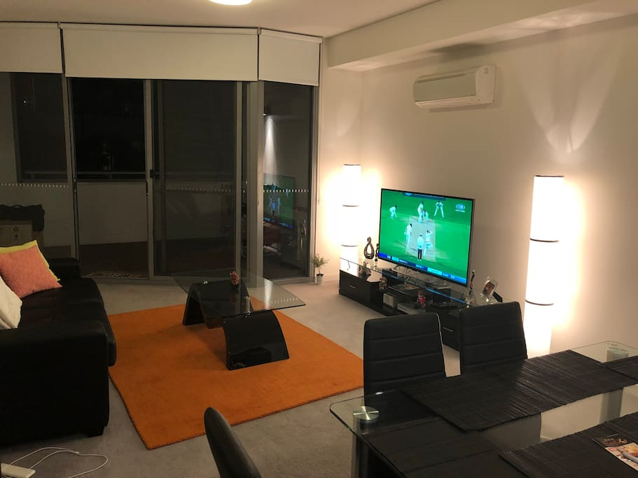 Living Room with Foxtel and Xbox One