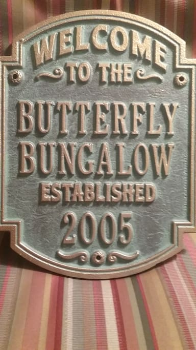 Butterfly Bungalow featuring the Marilyn Monroe Bedroom and Bath