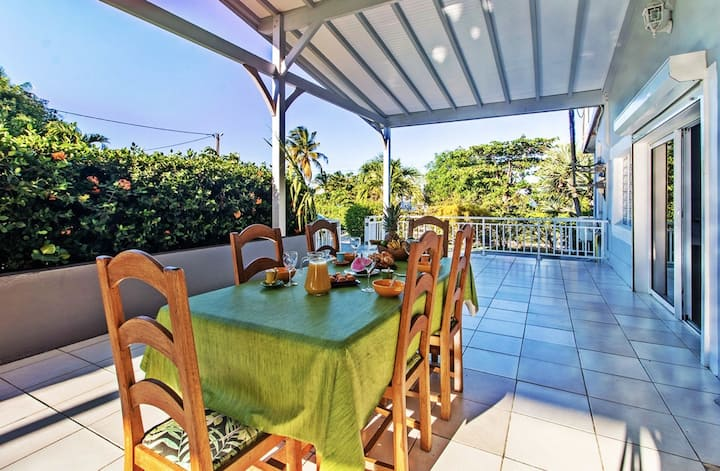 House with one bedroom in Le Vauclin, with shared pool, enclosed garden and WiFi