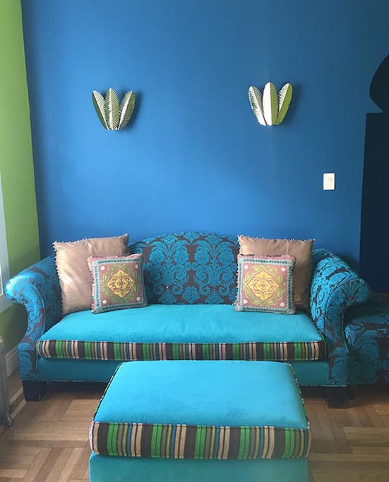 Living room couch.
