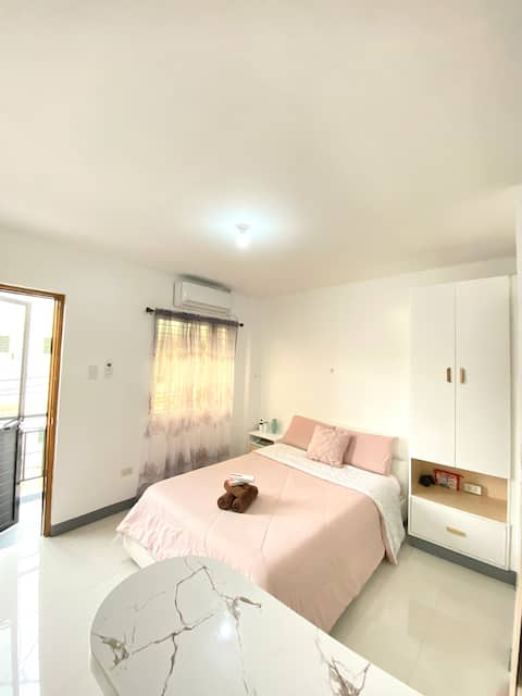 Homely Staycation w/ A/C & WiFi within Lucena City