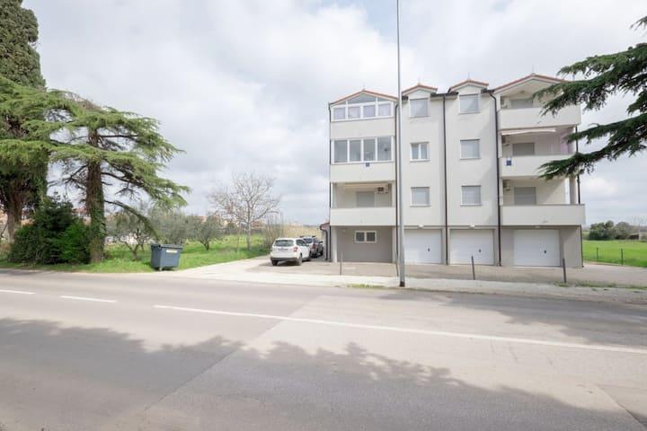 Tranquillo appartamento in Istria con balcone