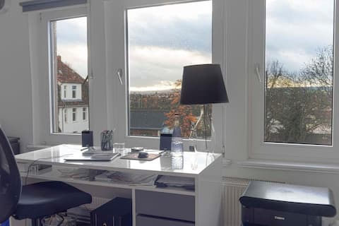 ☀ Sunny, Modern Room in the Best Spot ☀