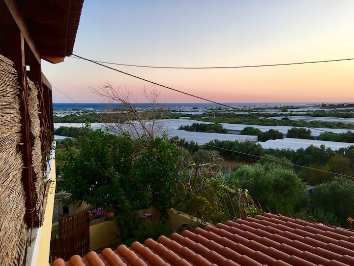 Budget & Comfort Stunning View Room in Crete