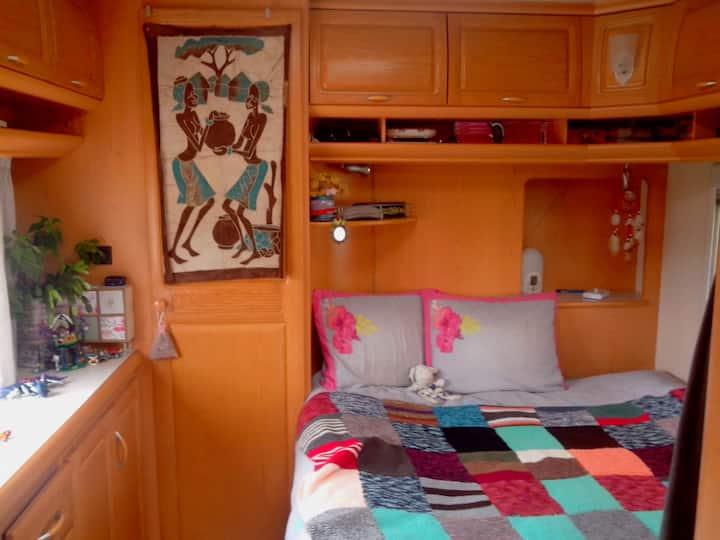 logement grande caravane indépendante
