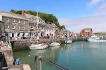 Enjoy a stroll around Padstow harbour!