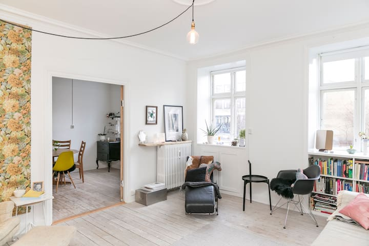 Light spacious modern home - Copenhague - Appartement