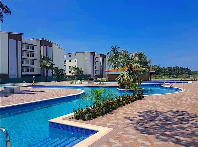 Condo swimming pool