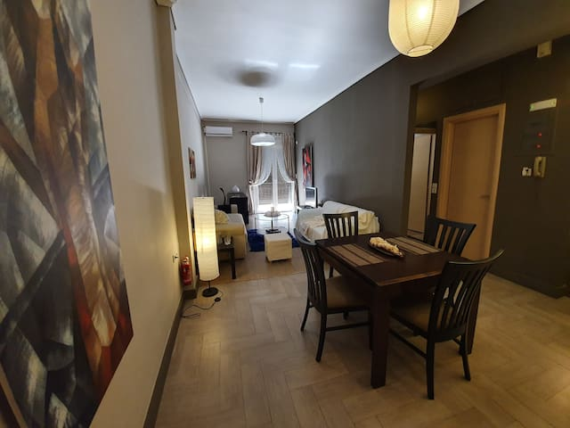 Luxury apartment in Corinth city centre with view