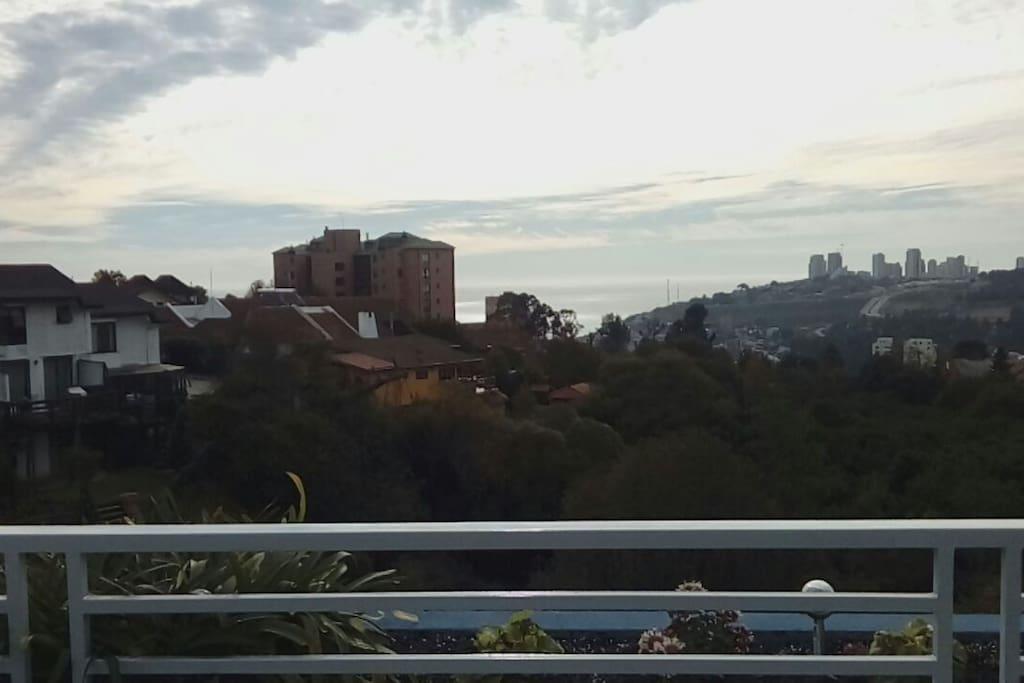 Vista desde Terraza Departamento