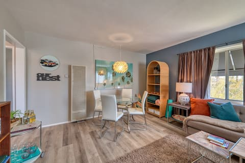California-Inspired Apt. In Safe & Ideal Location