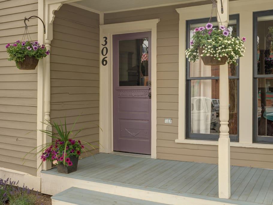 Historic Porch & Front Door