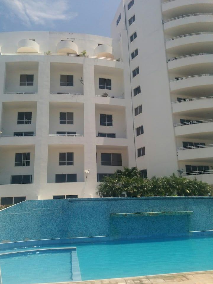 Duplex Frente la playa enCasablanca