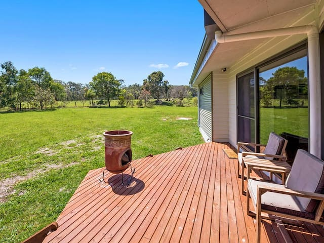 OTWAY AIRE - eco cottage set on 2 acres