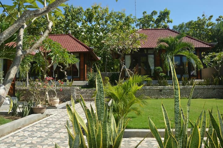 Three Private Cottages with Garden Views