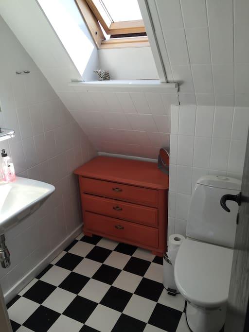 Ekstra toilet på 1.sal