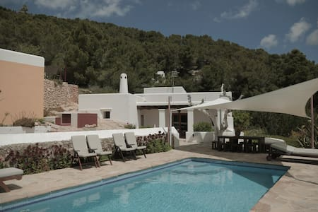 Typical Ibiza's villa, great view