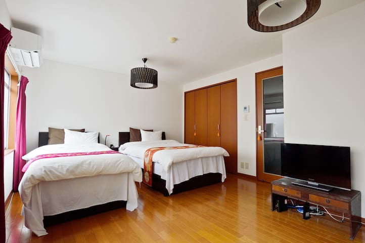 H2-a:5 min from Osaka Station.Best location! - Osaka - Huoneisto