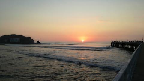 Trabajo Remoto en Playa con Wifi Escapaté de Lima